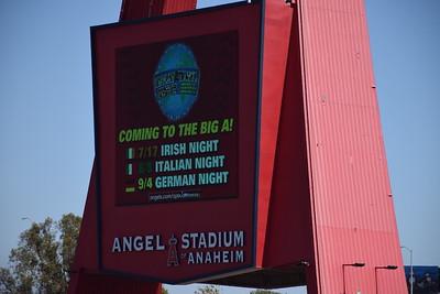 Angels Stadium Anaheim and KLAA 830