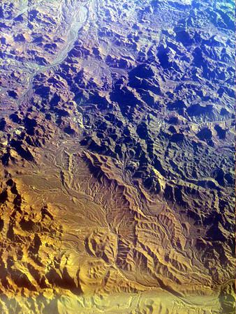 Arizona from a jet window